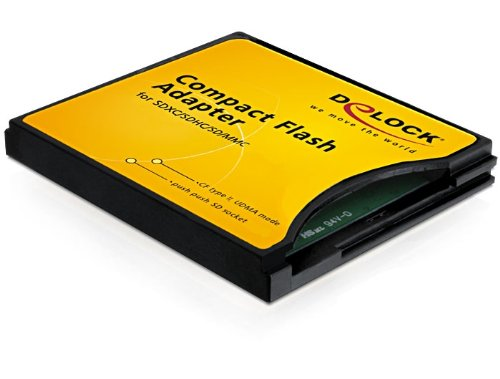 DeLock Adapter Compact Flash CF II zu SDHC,SDXC Ipod-flash-reader