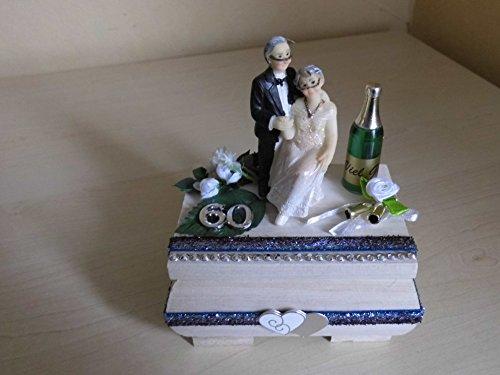 Diamantene Hochzeit - 60 Jahre Ehe Geschenk Geldgeschenk Geschenkbox