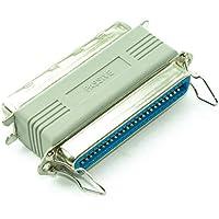 CDL Micro SCSI-1 - Adaptador de Paso pasivo Macho a Hembra (50 Pines), Color Beige