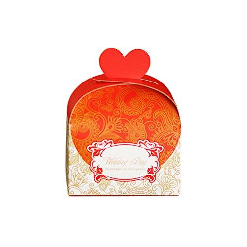 (Gankmachine Hochzeitstag Favor Geschenk-Süßigkeit Bomboniere Hochzeit Box)