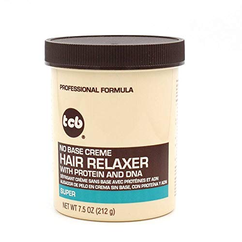Base Creme Hair Relaxer (TCB No Base Hair Relaxer Creme, Super, 7.5 Ounce by Tcb)