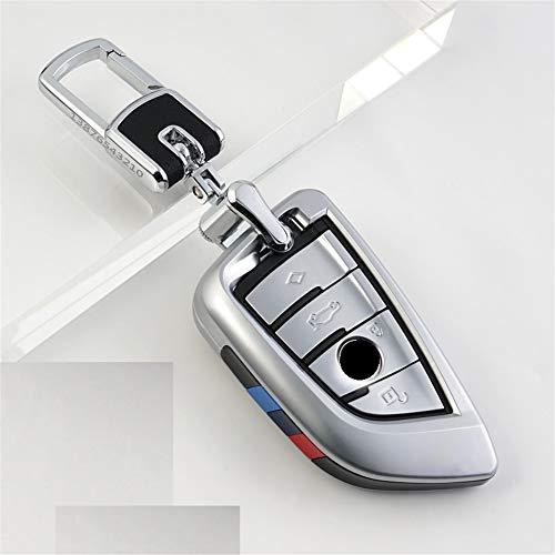 XUWLM Schlüsselanhänger ABS Autoschlüssel Cover Case Plating Fernbedienung Schlüssel Tasche Halter für BMW X1 X5 X6 F15 F16 F48 BMW 1/2 Series Klinge Schlüsselanhänger, Stil 2 -