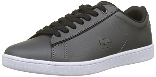 Lacoste Carnaby EVO 118 7 SPW, Zapatillas para Mujer, Gris (Dk Gry/blk),...