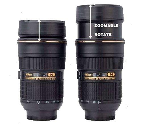 ... Nikon Camera lens tea coffee mug flask Unique gifting  Previous  /  Next
