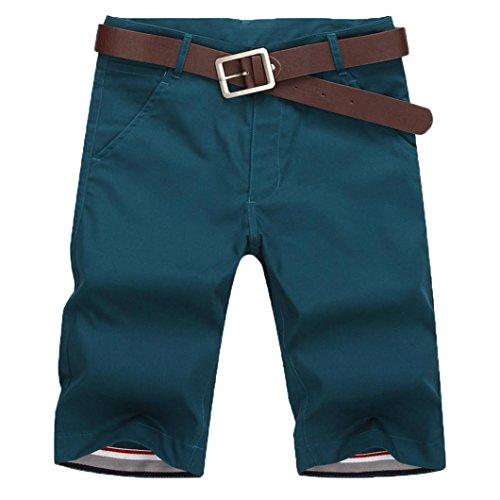 AMUSTER Bermuda Short für Herren Jeans Shorts Herren Kurze Hose Denim Sommer Jogger Bermuda Chino Herren Sport Joggen und Training Shorts Fitness Kurze Hose Denim Chinos