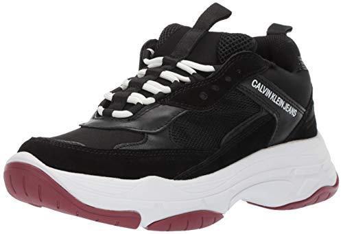 Calvin Klein Jeans Donna Nero Maya Chunky Sneaker-UK 3 3fc82a4f010