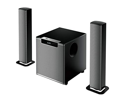 Philips MMS2220B 2.1 CH 120W Bluetooth Convertible Multimedia Soundbar/Speaker