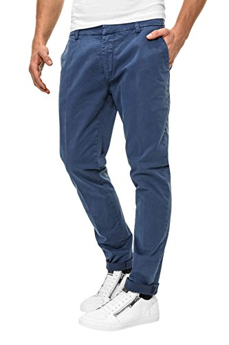 Antony Morato Herren Chino Hose Chinos Skinny Fit Persian Blu (Col. 7047)