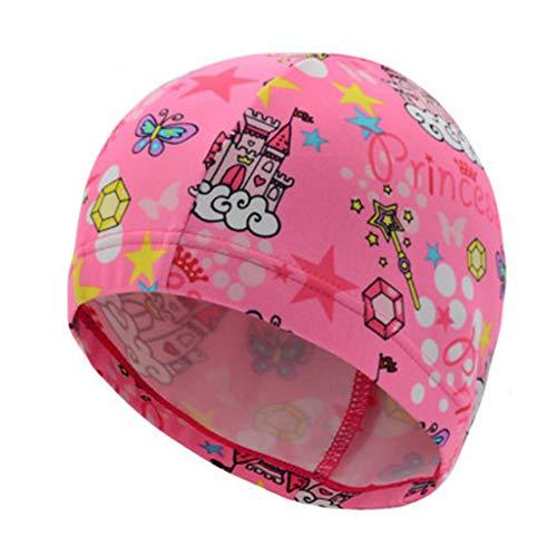 Alien Storehouse Fun Badekappe für Kids & Kleinkinder -Kids Swim Cap Durable - Swimwear Hair & Ear Protector,#Q