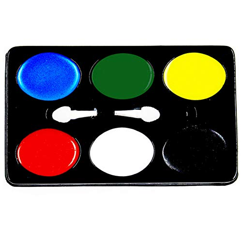 1 Set Halloween Body Paint Oil Waschbare 6 Farben Face Art Kit Safe Kids Facepainting Set Make Up Palette Art Office Supplies