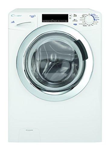 Candy GrandO Vita GV 1510 TWHC3 Waschmaschine FL / A+++ / 239 kWh/Jahr / 1500 UpM / 10 kg / 12900 L/Jahr / InverterSilent-Technologie / weiß
