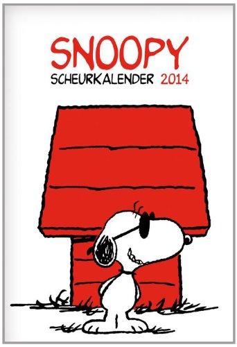 SCHEURKALENDERS 2014 Snoopy