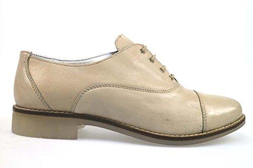 MICHEL BATIC AP917 classiche donna pelle beige (36 EU)