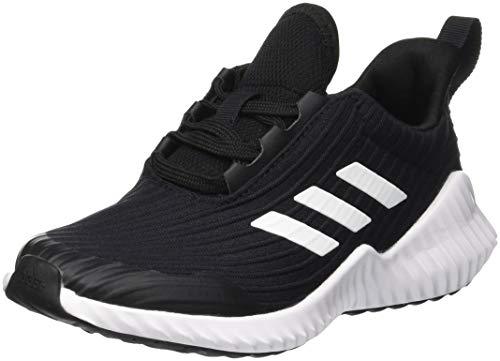 Scarpe da ginnastica adidas Fortarun K per bambini unisex, nere (Negro 000), 2.5 UK, 35