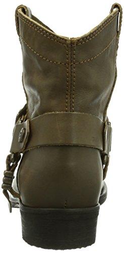 Hilfiger Denim Hudson 12a, Bottes Cowboy courtes, doublure froide femme Marron - Braun (DARK TAUPE 299)