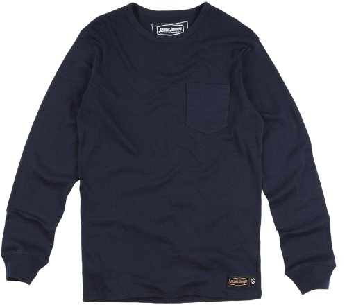 Jesse James Longsleeve Sturdy Work Pocket Blue