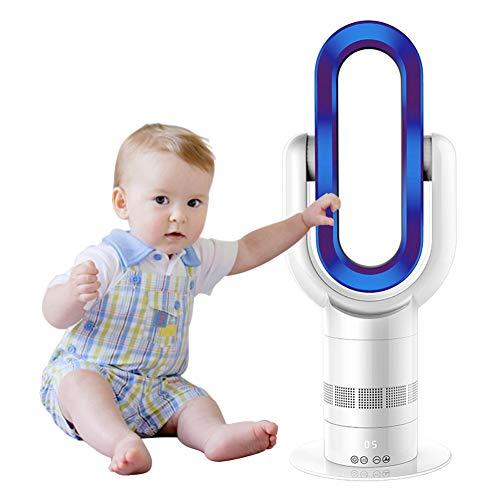 Mise À Jour Ventilateur Sans Lame Chauffage Chaud+Ventilateur Cool 25Inch Électrique Oscillation Verticale Ventilateur De...