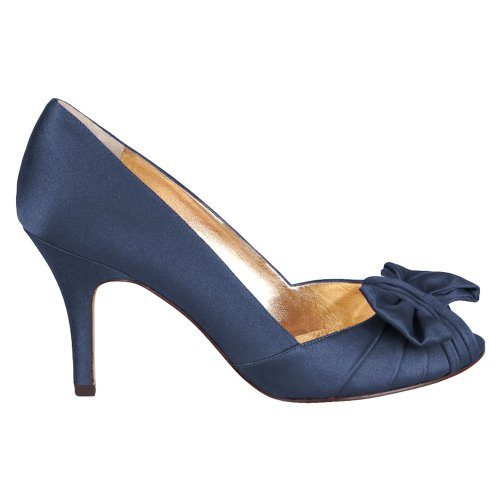 Nina Bridal  Forbes Azul Special Occasion Neob FORBES01, Sandales femmes New Navy Luster Satin