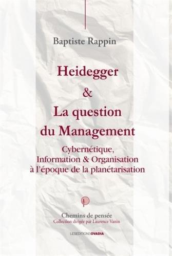 Heidegger et la question du management