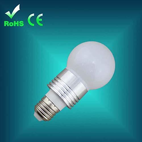 LED E27-BULB-Leistung 3W Lumen 320lm Lichtfarbe 3200K Farbreinheit CRI >80 Sockel E27-opak -
