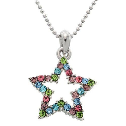Ausgehöhlten Gem Star Halskette (Pop-star Artikel)