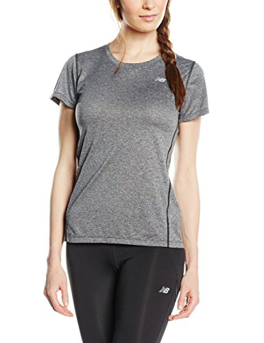 New Balance Heathered Women's T-Shirt - SS16 Grey
