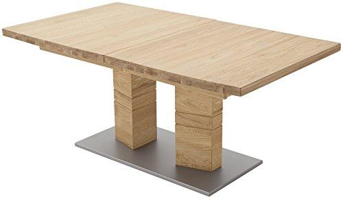 Robas Lund, Tisch, Esszimmertisch,  Cuneo A, Wildeiche/Massivholz, 140 x 90 x 77 cm, CUN14AWE