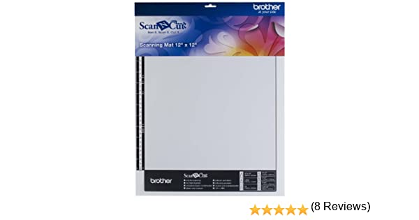 colore bianco Tappetino per scansione Brother Scan-N-Cut CAMATS12