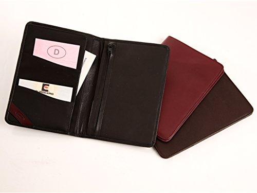 flache Brieftasche, Material echt Vollrindleder, handgefertigt in Deutschland