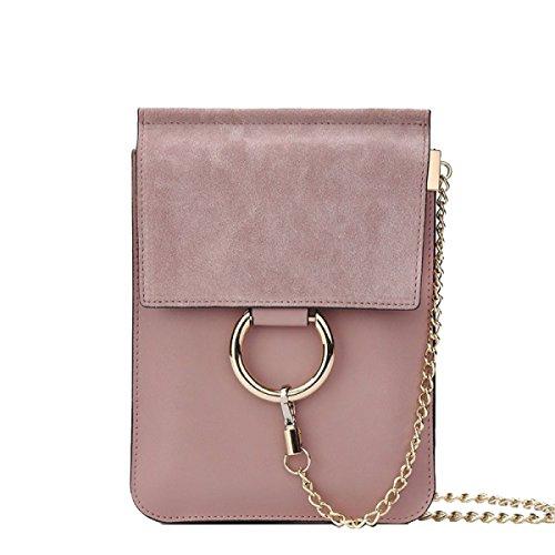 Yy.f Neue Handtaschen Ledertaschen Ledermini Abend Handtaschen Handtaschen Modekette Volltonfarbe Tasche. Multicolor Black