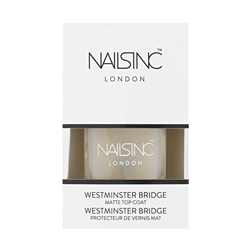 Nails Inc Vernis à ongles top coat, Westminster Bridge
