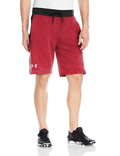 Under Armour Herren Short Sportstyle Fleece Graphic 1294262 RED M (Shorts Running Fleece)