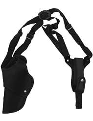 CamoOutdoor - Funda de hombro para pistola de airsoft (mano izquierda), color negro
