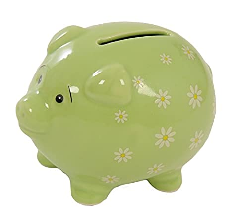 Suki Gifts Daisy Piggy Bank