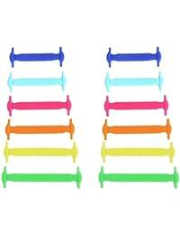Mio.oo - Cordones de Silicona para niños (Coloridos)