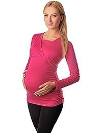 Purpless Maternity 2in1 Maternidad y de Enfermería Parte Superior 7007