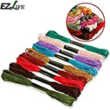 50 Colors Sewing Thread Anchor Similar DMC Stitch Cotton Embroidery Thread Floss Sewing Craft Tools Good Sewing Thread