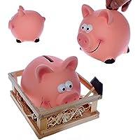 Preisvergleich für Sparschwein im Stall mit Hammer