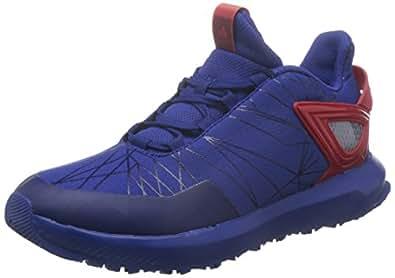 adidas Spider-Man Rapidarun, Scarpe Running Unisex-Bambini, Blu (Mystery Ink/Mystery Ink/Scarlet), 35 EU