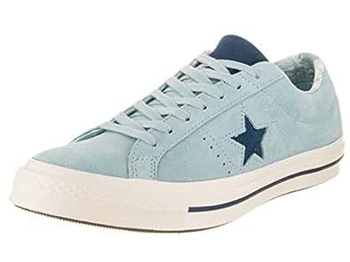 f3b5cd080924ea ... Converse Men s One Star Ox Sneakers Ocean Bliss Navy Egret 7.5 D(M) US    9.5 B(M) US