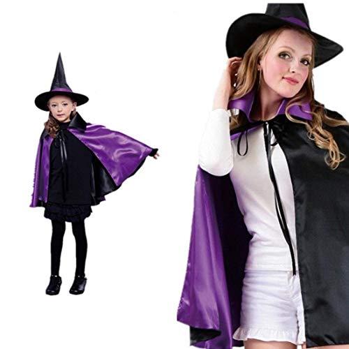 Arwen Kostüm Zubehör - Kinder Erwachsene köstüm Zauberer Umhang in