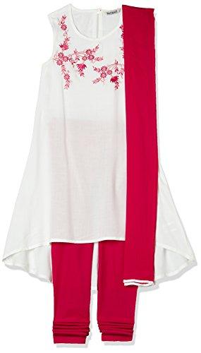 Karigari Girls' Straight Regular Fit Salwar Suit (274626908_Assorted_05Y)