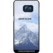 Funda para Samsung Galaxy S6 Edge Plus - Montaña Mont Blanc Alpes Invierno Nevera Altitud Fria Chamonix