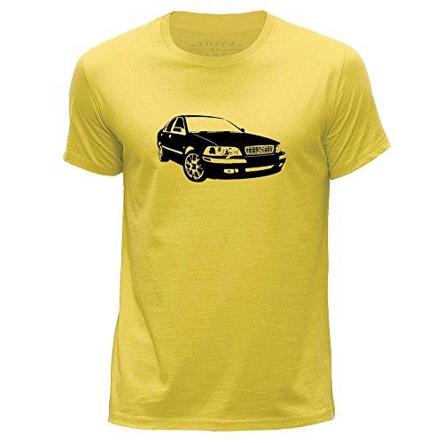 stuff4-uomo-x-piccolo-xs-giallo-girocollo-t-shirt-stampino-auto-arte-s40-t4