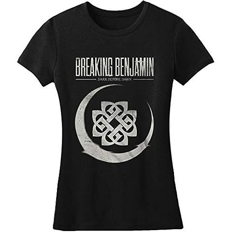 Breaking Benjamin Cresent Moon Junior Women's Black