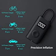 Xiaomi Portable Smart Digital Tire Pressure Detection Electric Inflator Pump, MJCQB02QJ, 124 x 71 x 45.3 mm