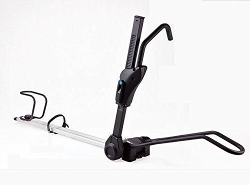 Xsj Auto Dach Regal Vier Stationäre Fahrradständer Hohe Tragbare Carbon-Stahl-Schwarze Schnell Installation Fahrradträger Auto-Regale -