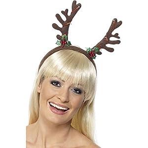 Christmas Flashing Antlers Headband - Adult (accesorio de disfraz)