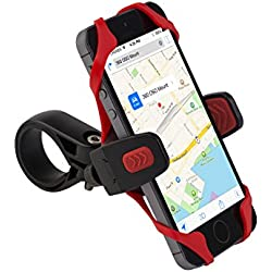 OSO Cyclomount Téléphone Portable de Montage pour Vélo pour iPhone 6/ 6 Plus/ 5S /5C /4 /4S / Samsung Galaxy S5/S4/S3/Note 4 /3 & Autre Smartphone