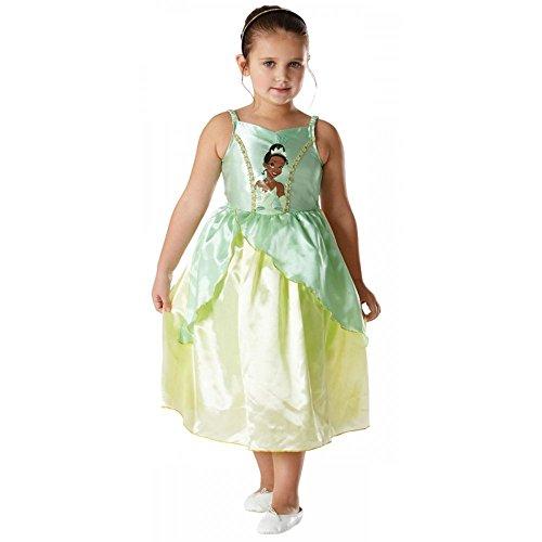 Tiana - Die Prinzessin und der Frosch - Disney - Kinder-KostŸm - Medium - (Und Der Frosch Prinzessin Outfits)